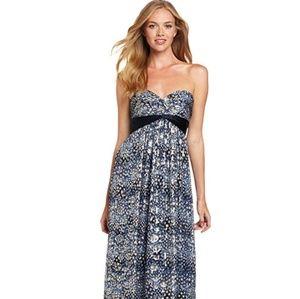 BCBGMaxAzria Carbon Combo Dress